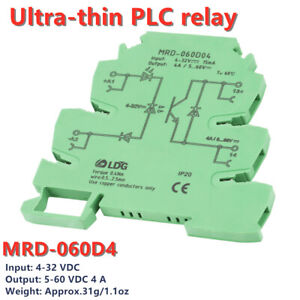 Mrd 060d4 Ultra thin Plc Relay Power Amplifier Board 24v Dc Solidstate Relay
