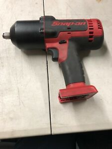 Snap On Tools Ct8850 1 2 Drive 18v Cordless Impact Wrench With 2battery Charge