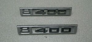 1969 72 Chevy Truck 8 400 Emblem Nameplate Oem Chevrolet Used Parts Pair