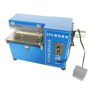 Leather Cutting Machine Slitting leather Slitter shoe Bag Cutter 110v Premium