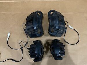 06 10 Bmw M5 M6 E60 E63 E64 Front Rear Brake Calipers Set Oem W Pads 971 07 08
