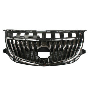 Front Upper Bumper Chrome Grill Grille Assembly For Buick Regal 2014 2017
