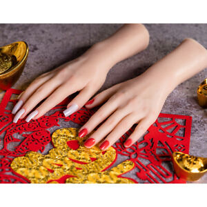 Elastic Jewelry Gloves Display Mannequin Fake Hands Manikin Photo Stage Props