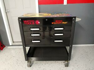 Matco Service Cart Cosmic Chaos Special Edition Tool Box