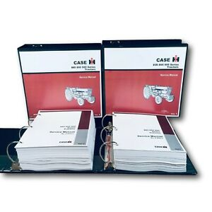 Case Ih International 885 895 995 Tractor Service Manual Repair Overhaul Bin