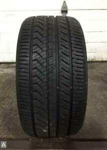 1x P285 35r18 Yokohama Advan Sport As 10 11 32 Used Tire