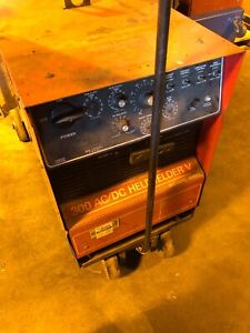 Airco 300 Amp Ac dc Heliwelder V Square Wave Power Source