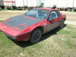 Driver Left Quarter Glass Without Deluxe Trim Fits 84 Fiero 192069