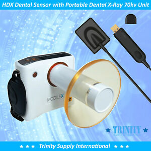 Digital X ray Intraoral Sensor Size 2 With Portable Dental X ray System New