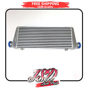 Racing Intercooler 28 x9 x2 5 For Supra Eclipse 240sx Civic 2 Inlet Outlet