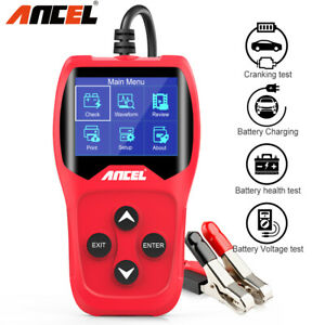 Ancel Ba201 Automotive Load Battery Tester Digital Analyzer Bad Cell Test Tool