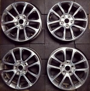 18 new Jeep Grand Cherokee 14 16 Oem Original Alloy Set Of 4 Wheel Rim 9136