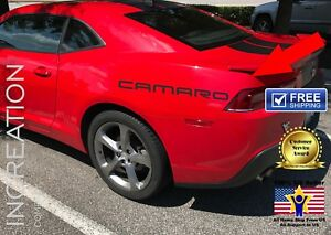 Racing Decals For Chevrolet Camaro Ss Sport Stickers Logo Vinyl Graphics Letters