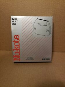 Nu Kote Typewriter Ribbon For At T 6100 And Olivetti B281 New