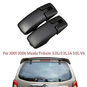1 Pair Rear Lift Gate Window Glass Hinges For Mazda Tribute 01 06 L R 924 119