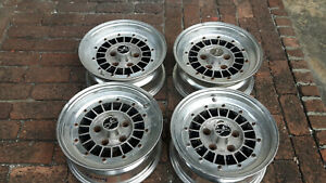 Jdm Focus Racing Fin 14 Rims Wheels 114 3x5 For Z31 S130 S30 240sx