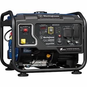 Westinghouse Igen 4 200 w Quiet Portable Rv Ready Gas Powered Inverter Generator