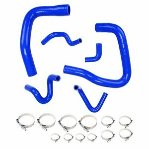 Silicone Radiator Hose Kit For 1986 1993 Mustang Gt Lx Cobra 5 0 Blue
