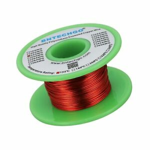 Bntechgo 22 Awg Magnet Wire Enameled Copper Wire Enameled Magnet Winding