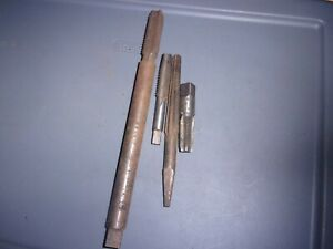 Lot Machinist Machining Tools 4 Reamers National P w Butfld Wells Brothers