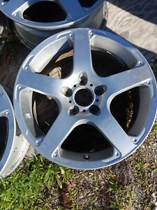 Aluminum Wheel Rims 5 Lug 18 X8 Used Like New Condition Also Have Center C