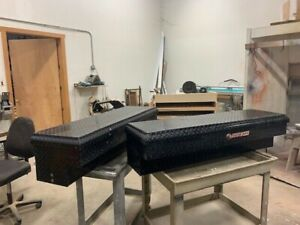 Weather Guard Lo Side Truck Bed Tool Box 174 5 01 One Pair Used