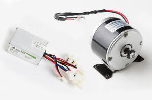 250w 24v Dc Electric Scooter Motor W Sprocket 1016 Kit W Speed Controller E300