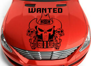 Punisher Tribal Choice Car Truck Decal Graphic Vinyl Hood Side