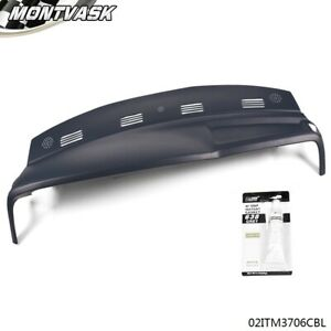 Blue Dash Cover Cap One Piece Overlay For 2002 2003 2004 2005 Dodge Ram