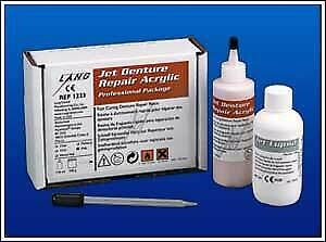 Lang Jet Denture Repair Acrylic Denture Repair Acrylic Pink Fast Set 1223 p