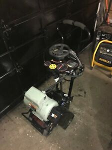 8 Walk behind Electric Concrete Scarifier Planer 230v 5hp Used 10hr Only