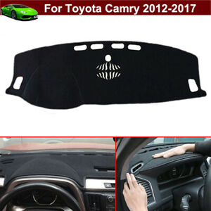 Non Slip Dashboard Carpet Dash Cover Dash Mat Parts For Toyota Camry 2012 2017