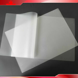 200 Sheets Pouch Laminating Film 12x18 Clear 5mil For Thermal Hot Laminator New