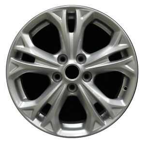 17 Ford Fusion 2010 2011 2012 Factory Oem Rim Wheel 3871 Sparkle Silver