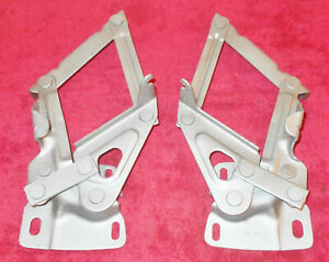 1964 1965 1966 Mustang Fastback Coupe Convertible Gt Shelby Orig L r Hood Hinges