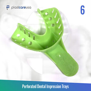 Autoclave Perforated Dental Impression Trays 6 Small Lower bag Of 12