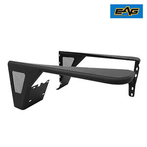 Eag Front Fender Flares Rock Crawler Tube mesh Fit For 97 06 Jeep Tj Wrangler
