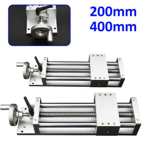 200mm 400mm Manual Linear Rail Guide Slide Stage Actuator Ball Screw Motion