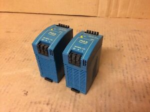 Lot Of 2 Puls Power Supplies Ml50 102 Industrial Automation