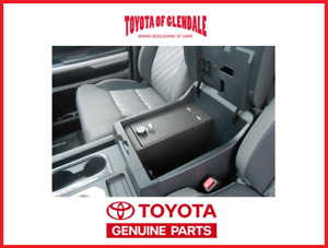 2014 2021 Toyota Tundra In vehicle Center Console Safe Genuine Oem Pt972 34200