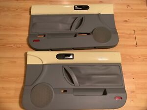 Volkswagen Beetle Convertible Rh Lh Door Panels Mellow Yellow 03 10 Read Add
