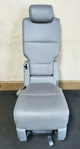 2011 2012 2013 Honda Odyssey 2nd Row Middle Seat Gray Leather Oem