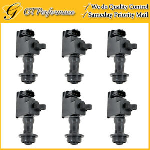 Oem Quality Ignition Coil 6pcs For 98 00 Nissan Skyline Stagea 2 5l 22448 aa100
