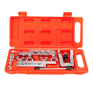 Us Hvac Flaring And Swaging Tool Kit Flares Od Soft Refrigeration Copper Tubing