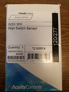 New Sensor Switch Wsx Wh Wall Motion Detector Switch Sensor 120 277v White