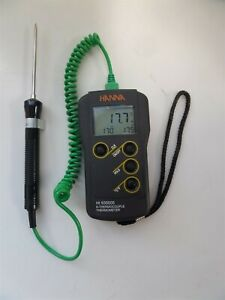 Hanna Instruments Hi 935005 Thermometer With Probe