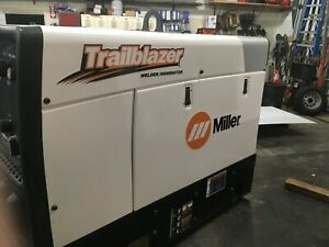 Custom Miller Welder Trailblazer Matte Decal Sticker Set Of 4 Decals