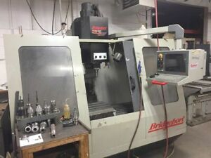 Bridgeport Torq cut 30 Cnc Vertical Machining Center W Tooling