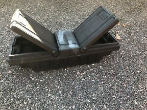 Used Contico Poly Crossover Tool Box Dual Self Lifting Gullwing Style Doors
