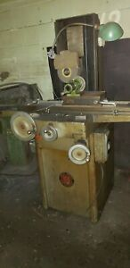 Reid Hand Feed Surface Grinder 612 With Perm Mag Chuck